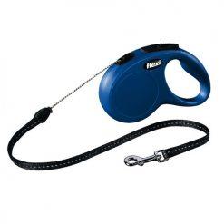 Flexi povodac za pse Classic plavi