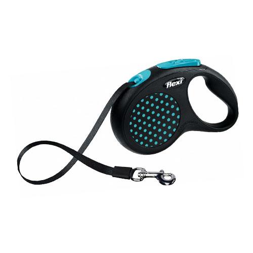 Flexi povodac za pse Tape plavi