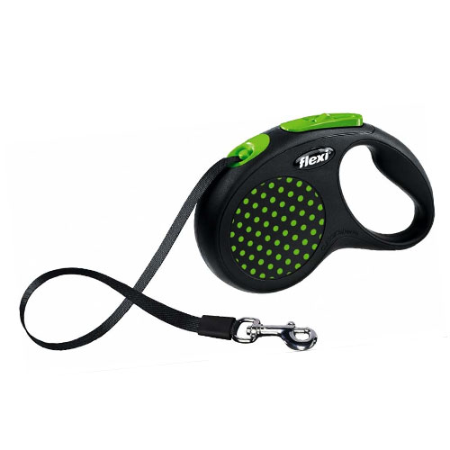 Flexi povodac za pse Tape zeleni