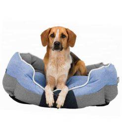 Krevet za pse Joris plavo-sivi