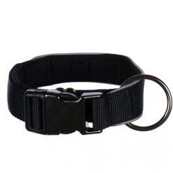 Ogrlica za pse Experience široka crna