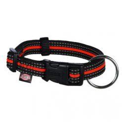 Ogrlica za pse Fusion crno-narandžasta