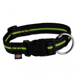 Ogrlica za pse Fusion crno-zelena