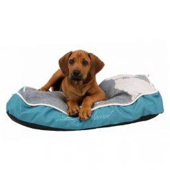 Krevet za pse Buddy petrolej-sivi
