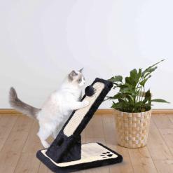 Kosa grebalica za mačke na postolju