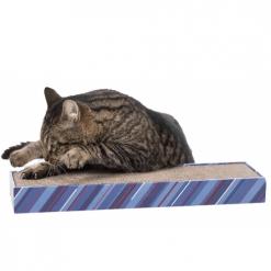 Scratchy kartonska grebalica za mačke sa mačkom