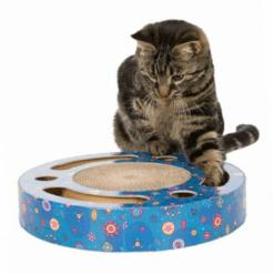 Okrugla grebalica za mačke sa lopticama