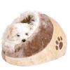 Krevet za pse Minou pećina braon-bež