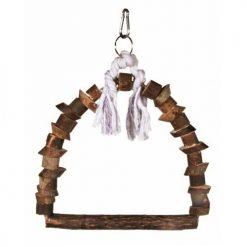 Drvena ljuljaska za kavez