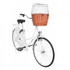 Korpa za psa za bicikl prirodna