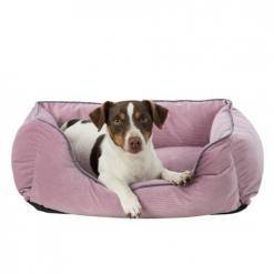 Krevet za pse Lupo roze